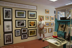 Vance Bell's photography at the Gallery